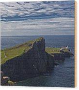 Neist Point Lighthouse Wood Print