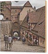 Nurnberg Germany Castle Wood Print