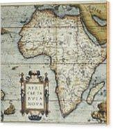Ortelius, Abraham 1527-1598. Theatrum Wood Print