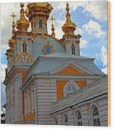 Peterhof Palace Russia Wood Print