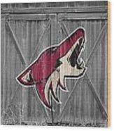 Phoenix Coyotes Wood Print