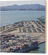 Port Of Oakland, Oakland Wood Print
