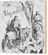 Prince Otto Von Bismarck (1815-1898) Wood Print