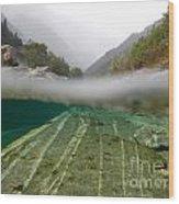 River Wood Print by Mats Silvan
