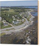 Rye Beach, New Hampshire Nh Wood Print