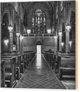 Saint Marks Episcopal Cathedral Wood Print