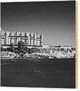 Salou Waterfront Properties On The Costa Dorada Catalonia Spain Wood Print
