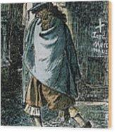 Samuel Pepys (1633-1703) Wood Print