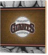 San Francisco Giants Wood Print by Joe Hamilton
