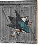 San Jose Sharks Wood Print