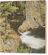 Smalls Falls In Western Maine Wood Print