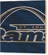 St Louis Rams Uniform Wood Print