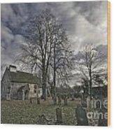 St Margaret Of Antiochs Church Linstead Wood Print