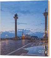 St Mark's Square Wood Print