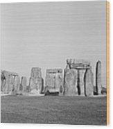 Stonehenge Wood Print by Anonymous