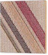 Striped Material Wood Print
