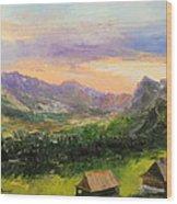 Tatry Mountains- Poland Wood Print