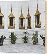 Thai Kings Grand Palace Wood Print