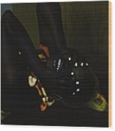 The Black Victorian Wood Print