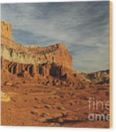 The Castle, Capitol Reef National Park Wood Print