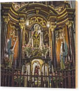 The Monastery Of San Francisco -  Lima Peru Wood Print