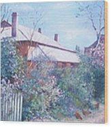 The Old Farm House Wood Print