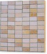 Tiles Background Wood Print