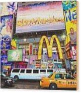 Times Square - New York City Wood Print