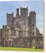 Titchfield Abbey Wood Print