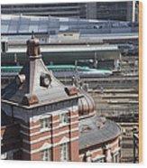Tokyo Station Wood Print