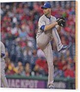 Toronto Blue Jays V Philadelphia Wood Print