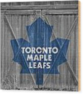 Toronto Maple Leafs Wood Print