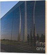 Us Air Force Memorial Wood Print