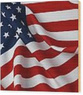 USA Wood Print by Les Cunliffe