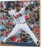 Washington Nationals V Atlanta Braves 4 Wood Print
