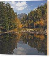 Whiteface Mountain Wood Print