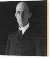 Wilbur Wright (1867-1912) Wood Print