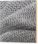 Wool Background Wood Print