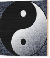 Yin And Yang 2 Wood Print