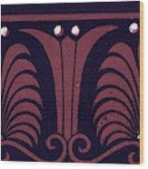 Greek Ornament And Etruscan Ornament Wood Print