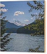 40620-3 Detroit Lake And Mt Jefferson Wood Print