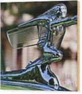 41 Packard Badge Wood Print