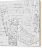 New Yorker September 4th, 2006 Wood Print