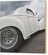 41 Willys Coupe Wood Print