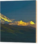 41010-91 A Mt Hood Sunset Wood Print