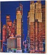 42nd Street Wood Print