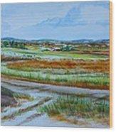 43. Gettysburg - The Land Remembers Wood Print