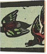 Illustration Of English Tales Folk Tales And Ballads Wood Print