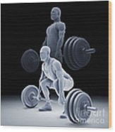 Exercise Workout Wood Print