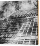 The Shard London Wood Print